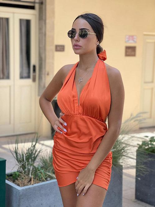 שמלת קולר כיווצים