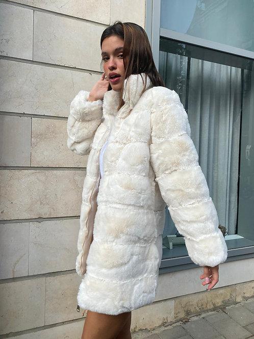 מעיל פרווה ארוך