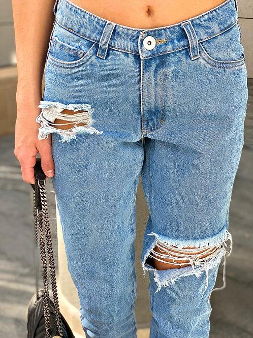 ג'ינס לוז קרעים חברת 101