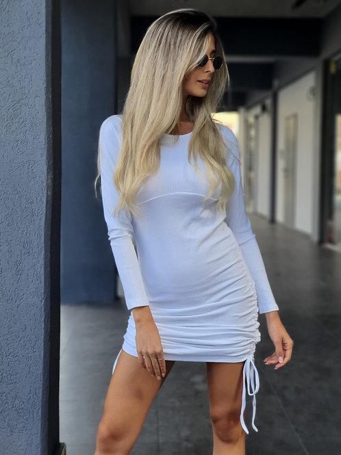 שמלת שרוך כיווץ