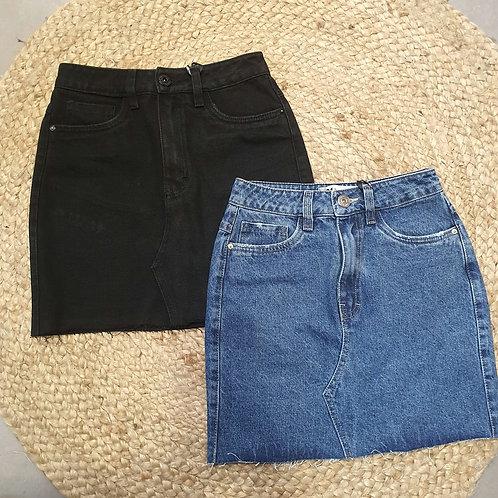 חצאית ג'ינס חברת 101