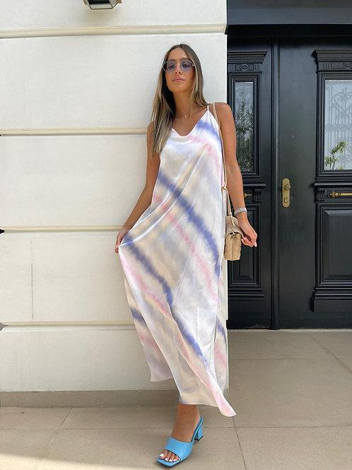 שמלת סאטן טאי דאי