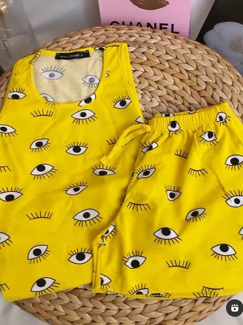 פיג'מה עיניים
