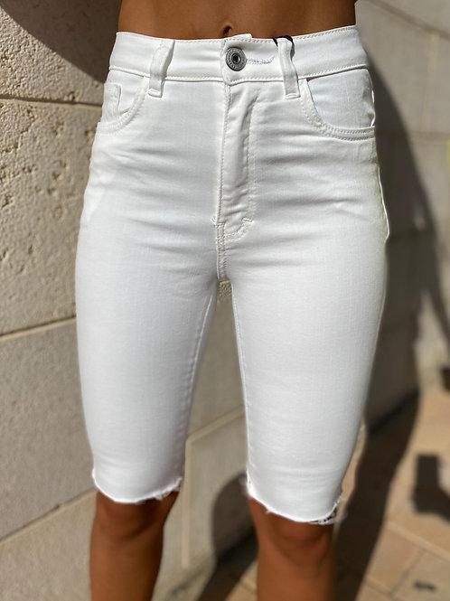 ג'ינס לבן לייקרה חברת 101