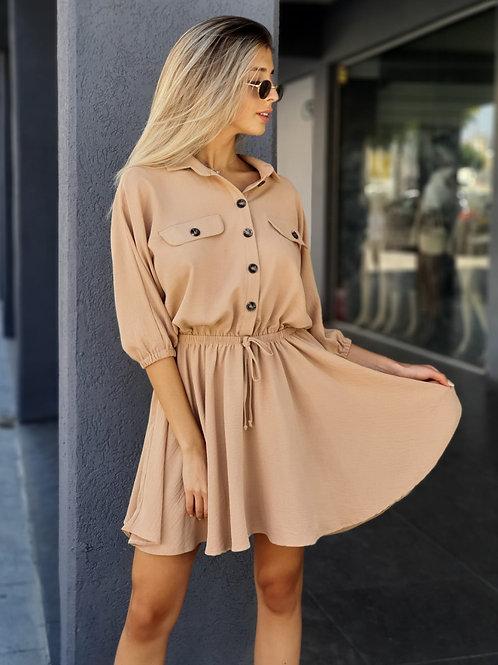שמלה כפתורים