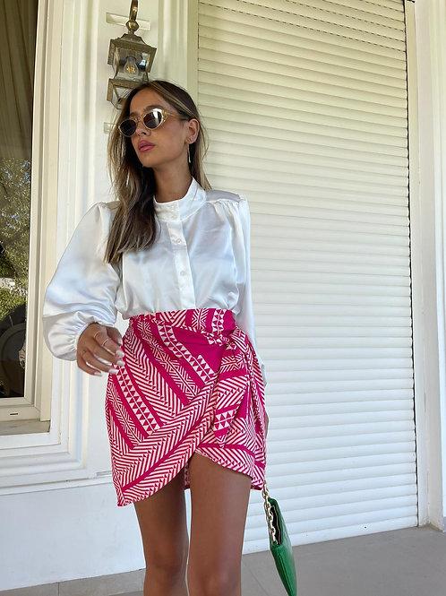 חצאית קשירה אתני