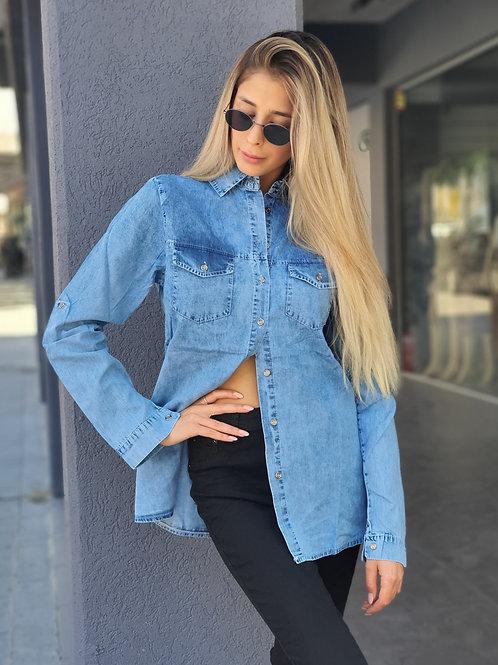 חולצת ג'ינס