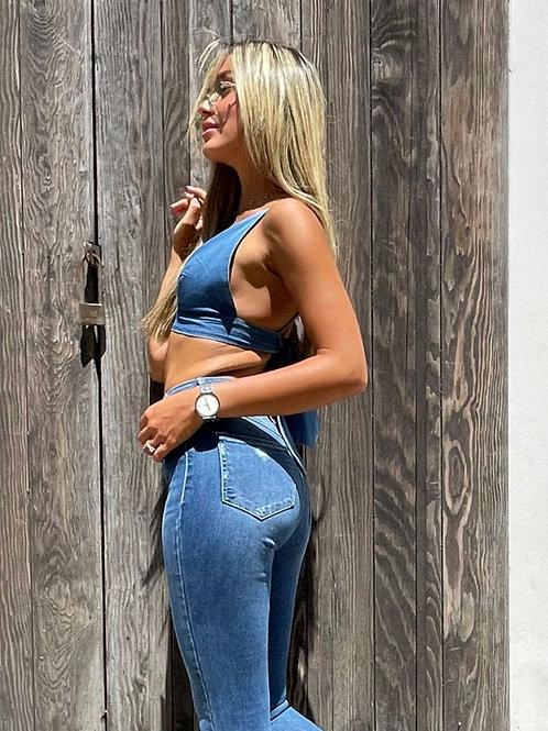 טופ ג'ינס משולשים חברת 101