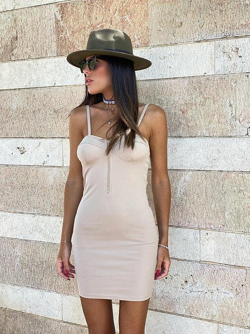 שמלה שילוב רוכסן