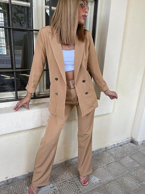חליפת ג'קט מכנס