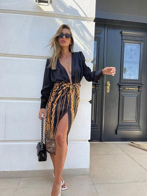חצאית קשירה