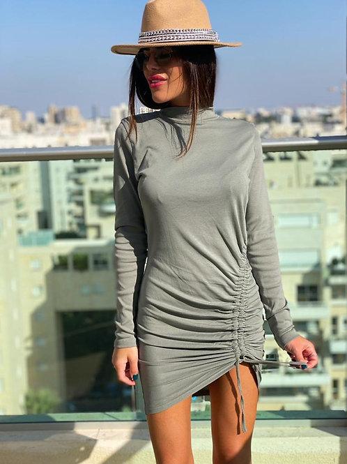 שמלה כיווץ אלכסון