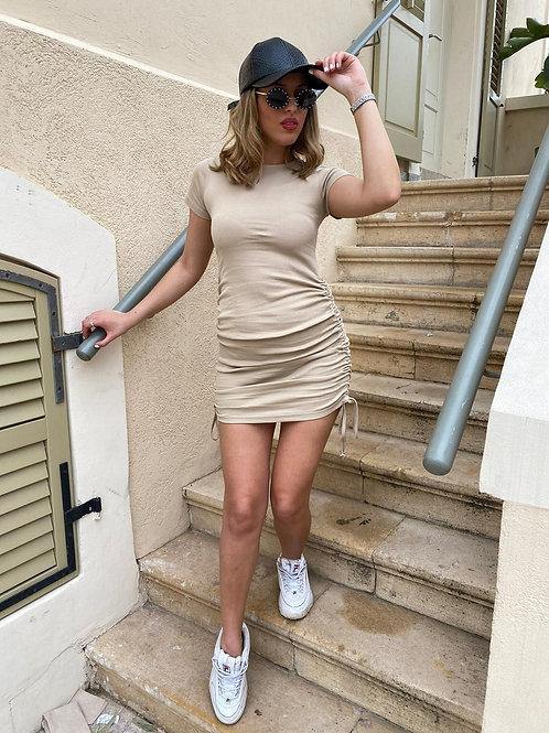שמלת פיין ריפ כיווצים