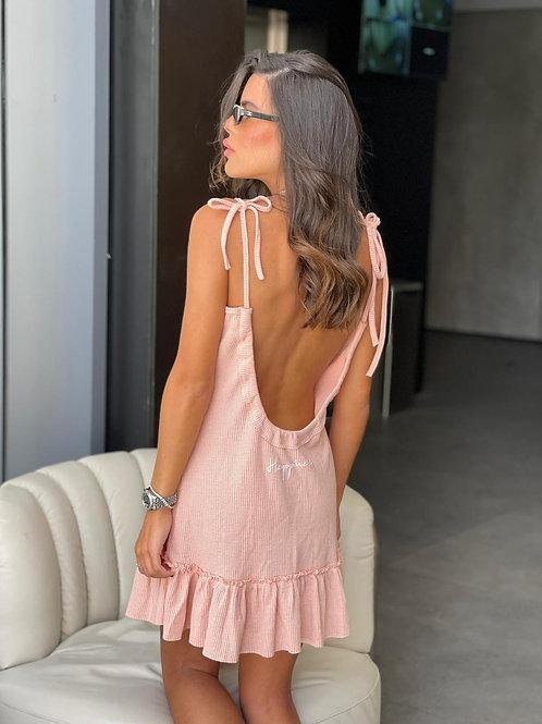 שמלה גב פתוח