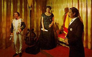 Kam III, Queen Liliu, Lunalilo postcard