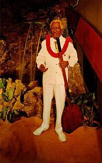 Duke Kahanamoku postcard