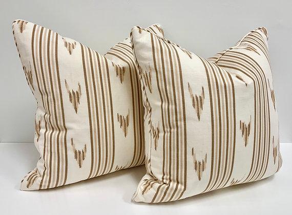 "20"" Pillow - Schumacher Santa Barbara"