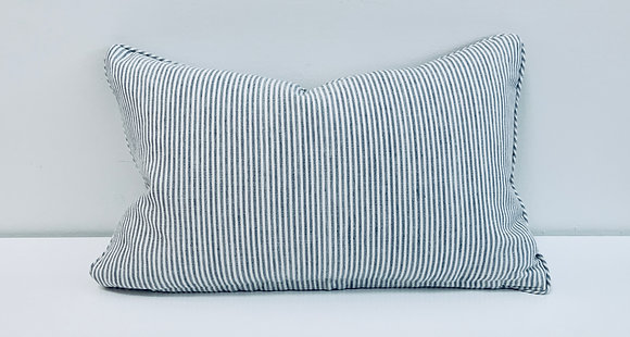 14 x 22 Pillow - Wesley Ticking Stripe