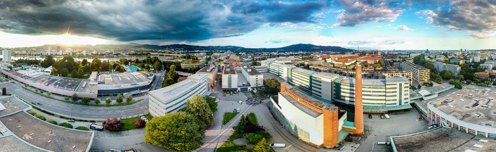 Airpanorama Tabakfabrik Linz