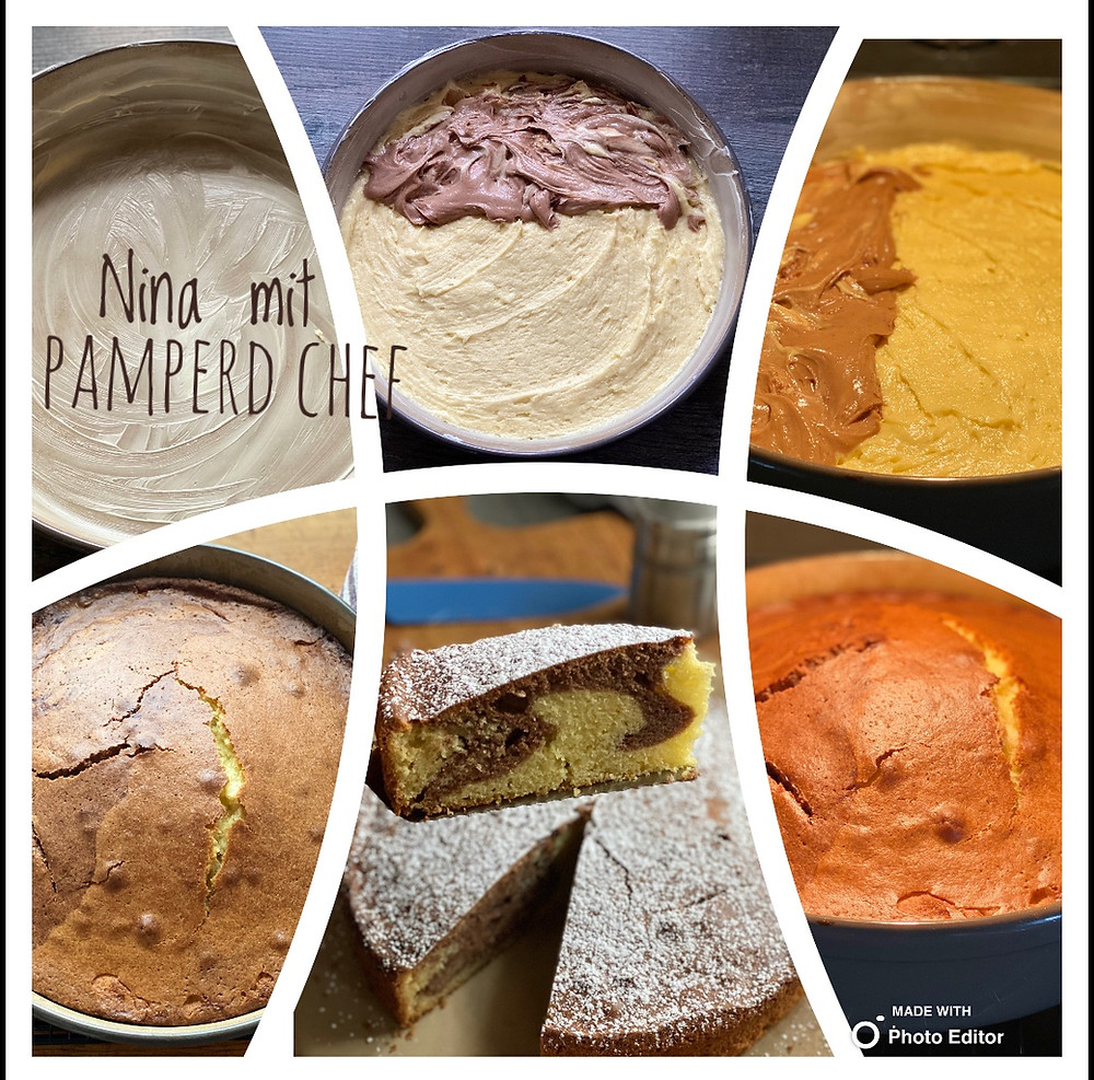 Marmorkuchen mit Pampered Chef