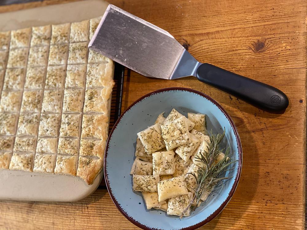 Rosmarin-Chips mit Pampered Chef
