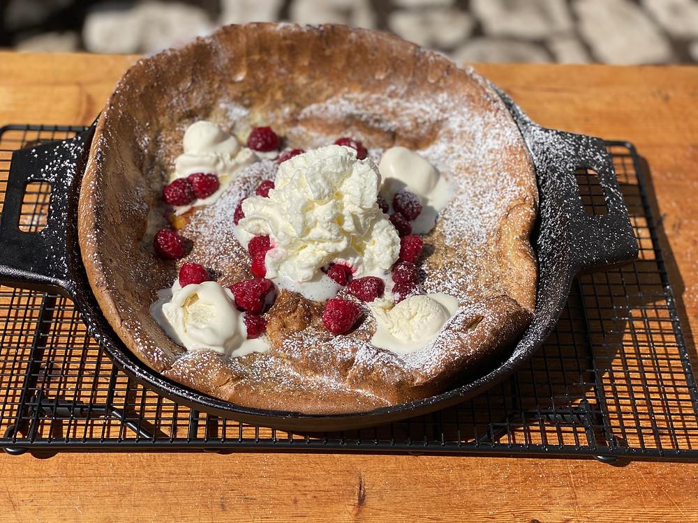 Ofenpfannkuchen vom Grill mit Pampered Chef