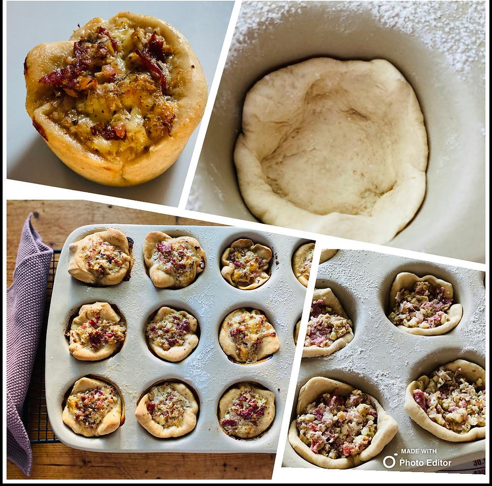 Pizzabrötchen mit 12er-Snack von Pampered Chef