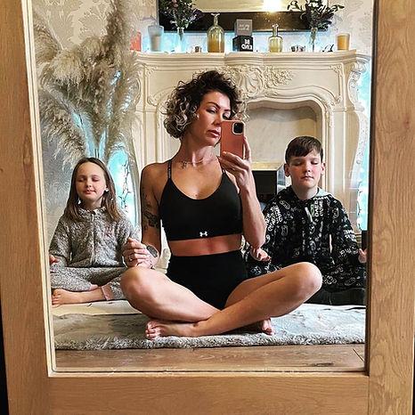 SSV Yoga Graduate Hayley