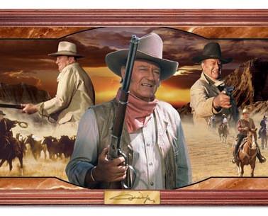 John Wayne Light Up Pano