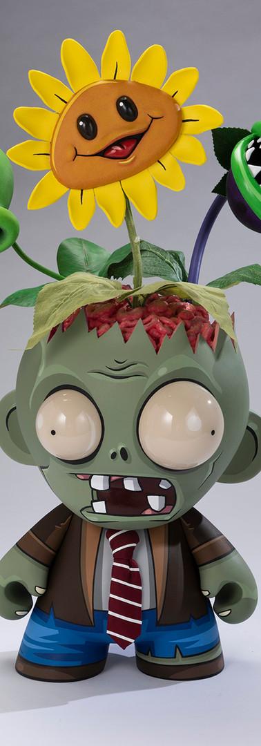 Plants Vs. Zombies Custom Munny