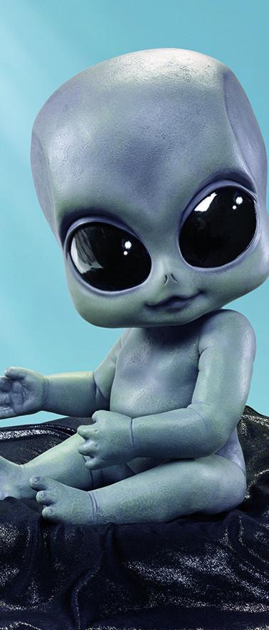 Greyson the Alien Baby