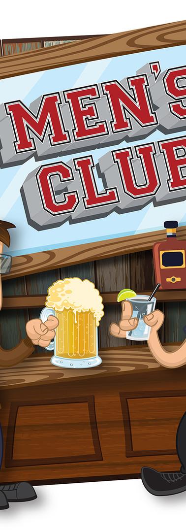 Men's Club Logo Design
