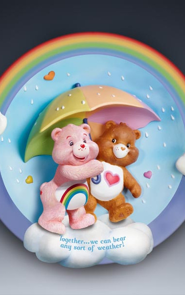 Care Bears Sculpted Plate