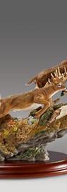Tabletop Deer Sculpture