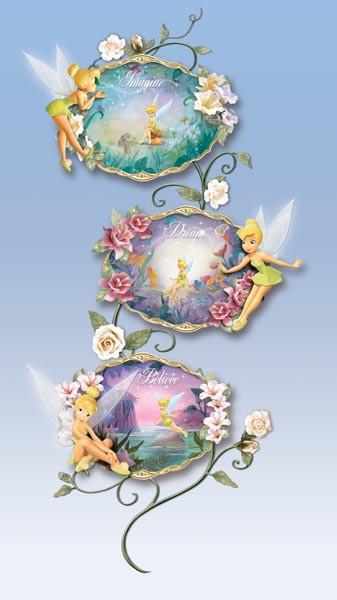Tinker Bell Plate Trellis