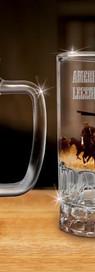 John Wayne Glass Beer Mugs