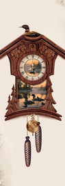 Loon Cuckoo Clock