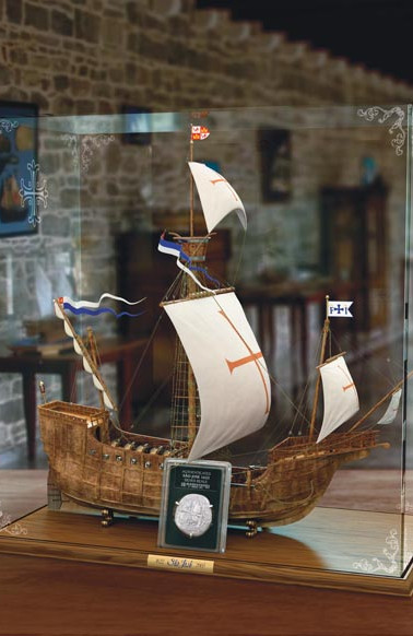 Sao Jose Ship Model