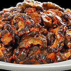 salada de pepino seco