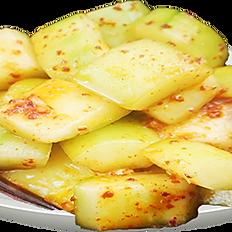 Salada de pepino apimentada