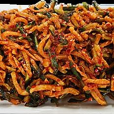 Salada de rabanete seco