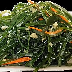 Salada fria de algas