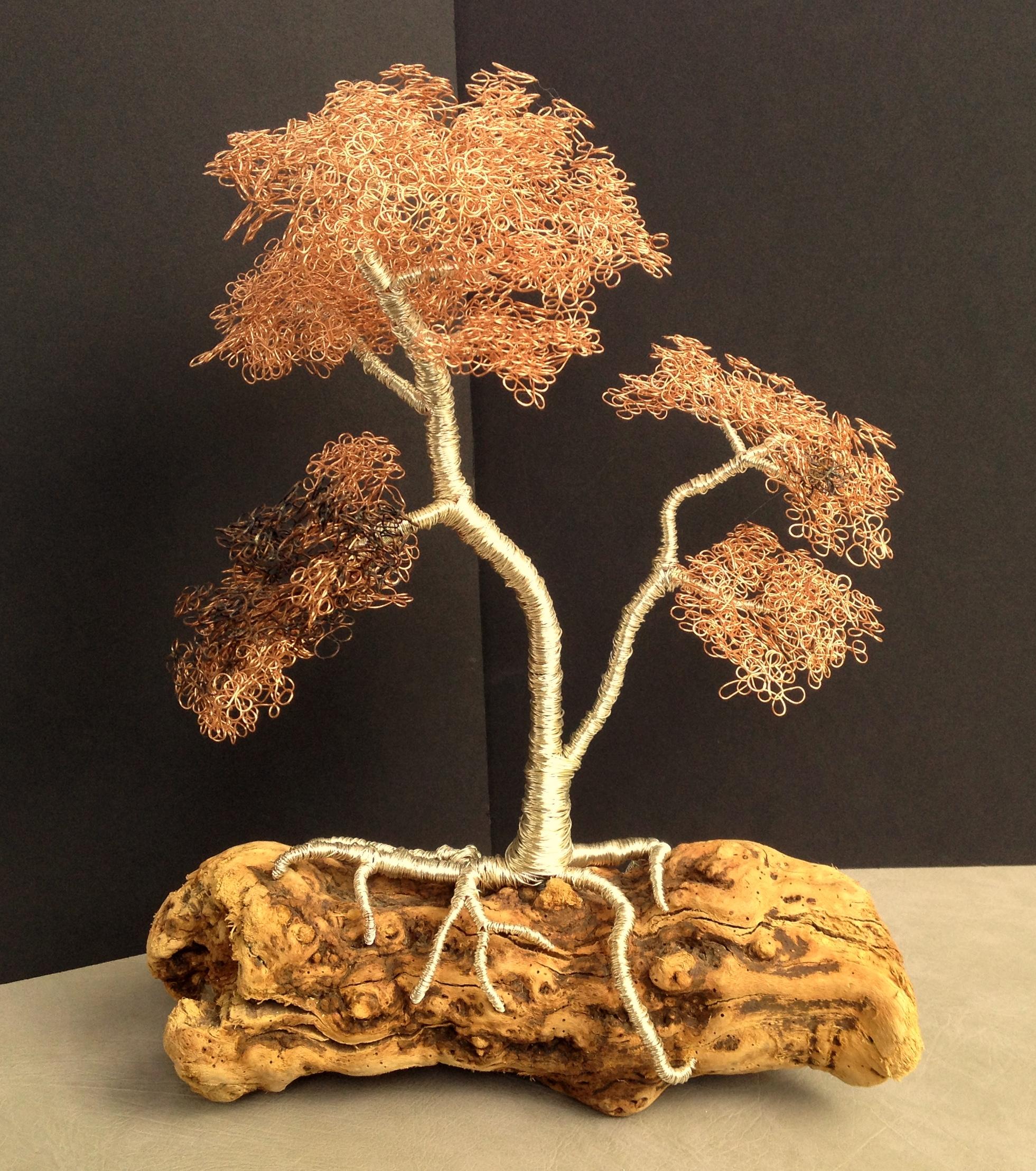 Aspen Wire Tree Sculpture