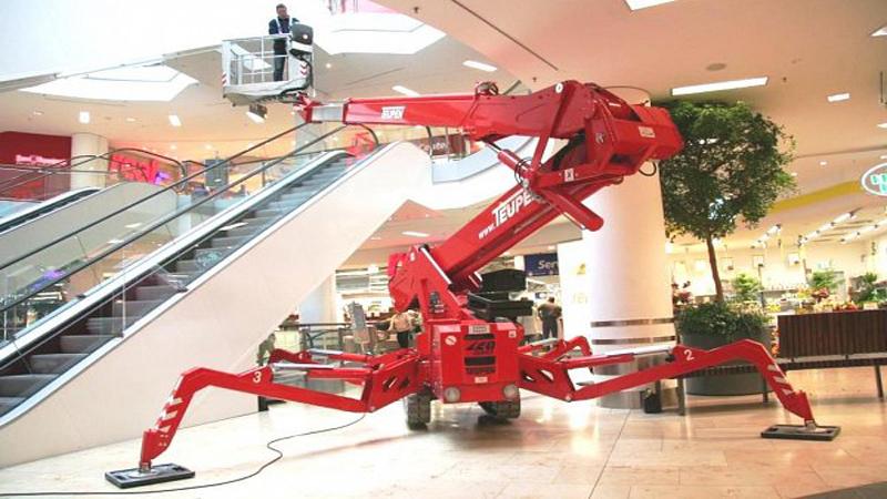 Kurdi Spider Lift Lebanon 8