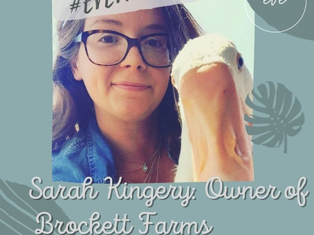 #EVEWCW Collab Feature: Sarah Kingery, Owner of Brockett Farms.
