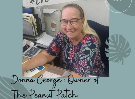 #EVEWCW Collab Feature: Donna George, Owner of The Peanut Patch