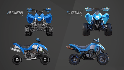Don't have a concept ready? No problem! Our artists can design 2D concepts and 3D prototypes according to your specifications. Whether you have something specific in mind or just a rough idea, we will employ our creativity to deliver you a unique design.