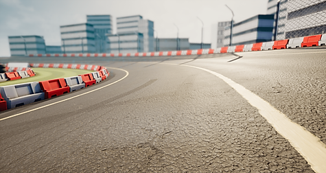 We can model and texture full race tracks or retopologize existing tracks from 3D scans, all in high fidelity to match their real-life counterparts.