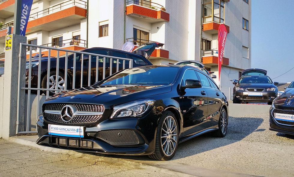 Mercedes CLA Shooting Brake AMG!