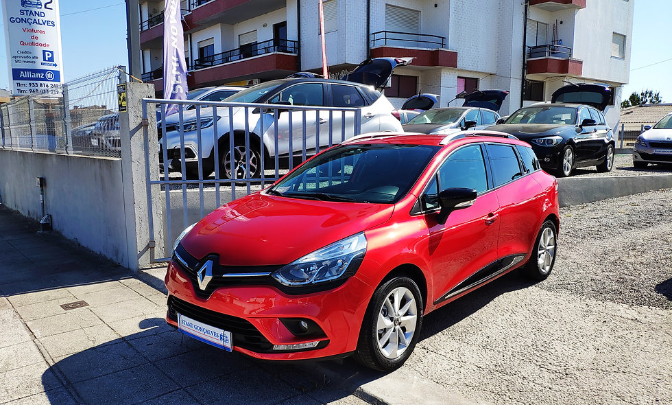 Renault Clio Sport Tourer Tce Limited!